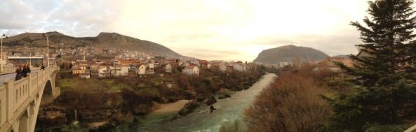 View sungai Mostar