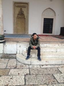 Old town Mosque. Aku tak tau dia pakai mahzab apa sebab sembahyang sunat dia 4 rakaat.